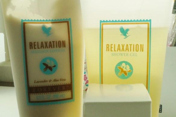 Forever Living Shower Gel och Massage Lotion