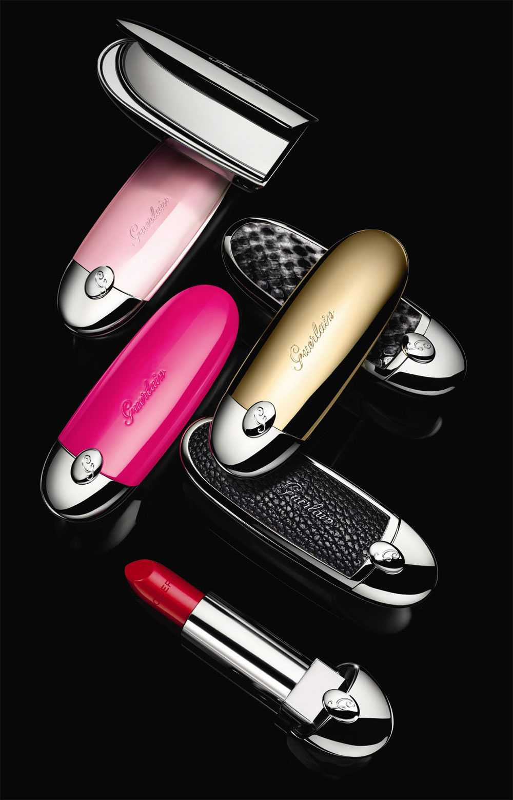 Lo Specchio Film Rossetti Guerlain My Rouge G: Packaging Con Case