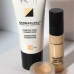 Custom Blend Concealer using Vichy Dermablend and Mac Pro Longwear