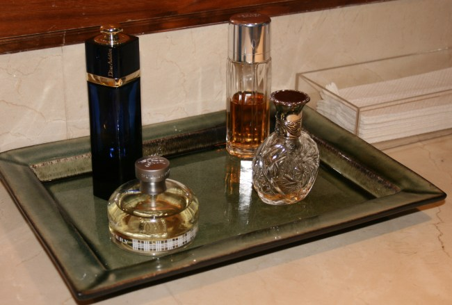 Perfumes in the toilets prove this place is posh.