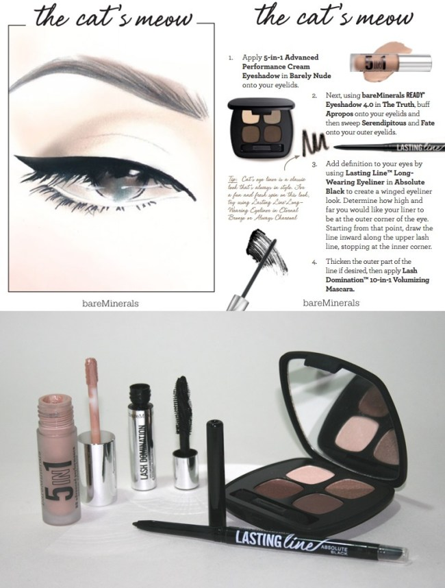 Bare Minerals The Cats Meow products