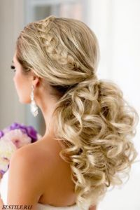 Wedding Hairstyles : Wedding Hairstyle -via El Style ...