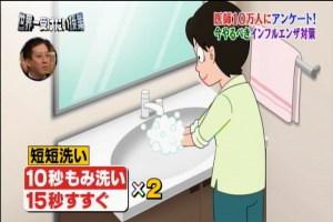 手洗い方法1