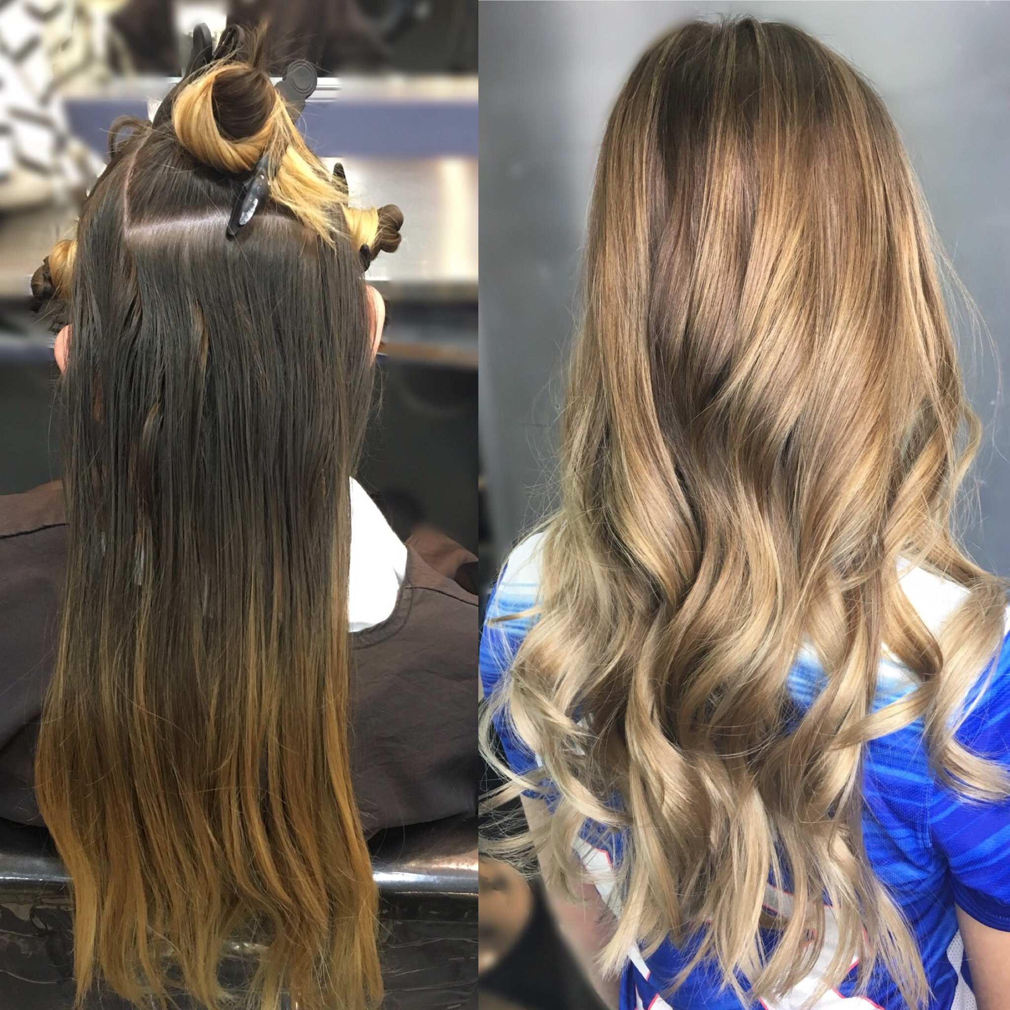 Color Correction Grown Out To Modern Sombre Color Modern Salon
