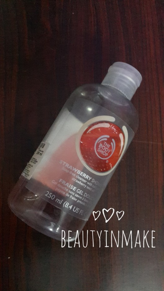 THE BODYSHOP - STRAWBERRY SHOWER GEL - REVIEW image