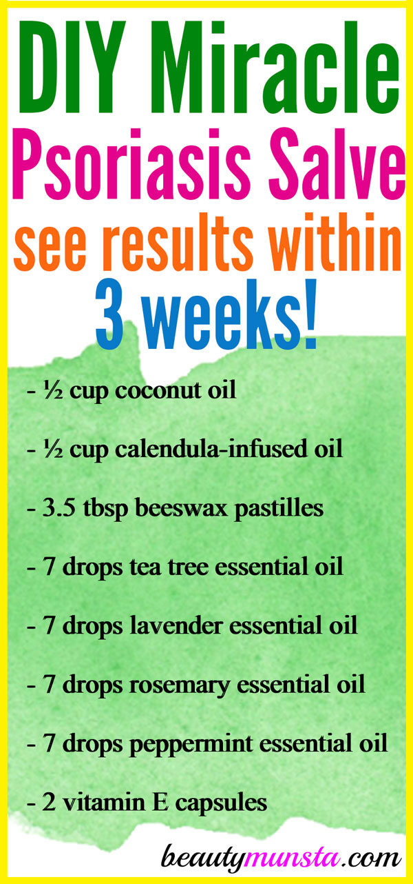 Homemade Salve for Psoriasis - beautymunsta - essential oil for psoriasis