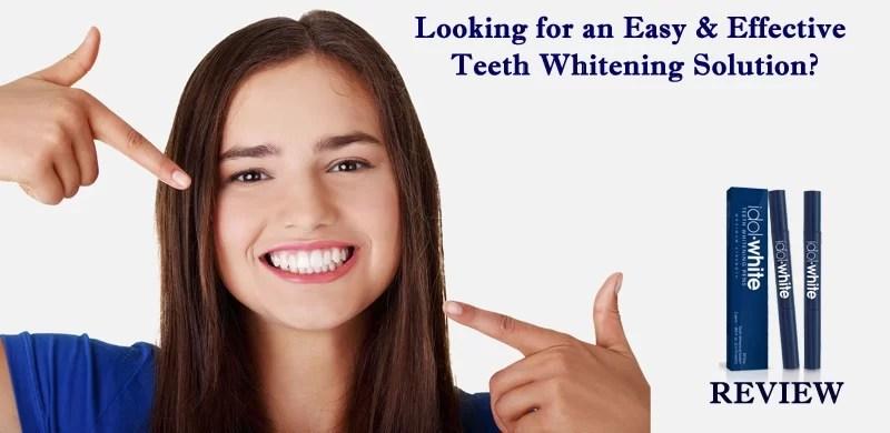 Idol White Teeth Whitening Review