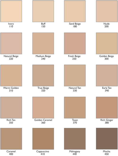 Mary Kay Color Chart Gallery - Free Charts References