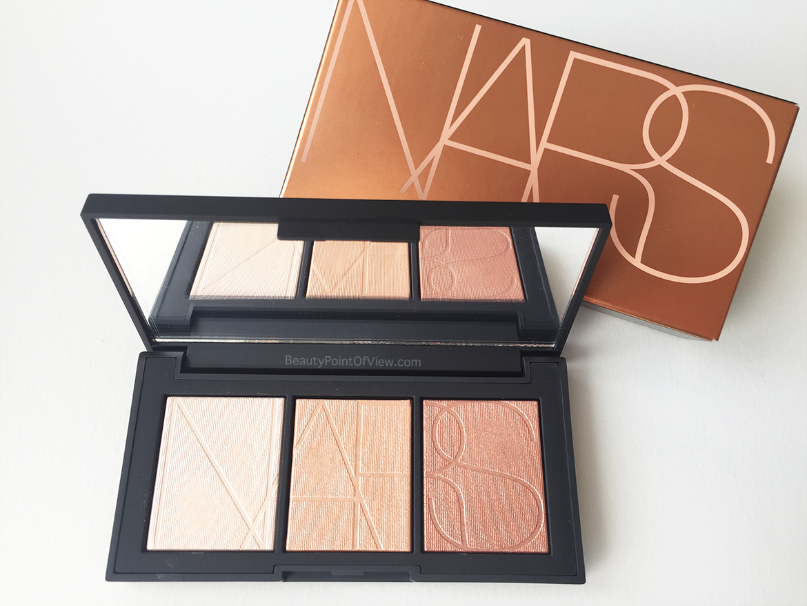 Banc Palette Nars Banc De Sable Highlighter Palette Beauty Point Of View