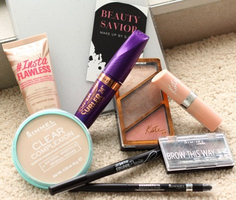 Everyday makeup with Rimmel