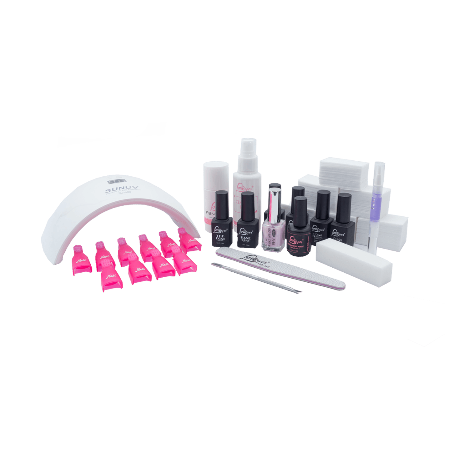 Lampara Led Para Uñas Esmaltado Permanente Para Uñas Kit Lampara Led Uv 24w