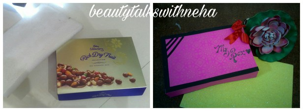 DIY:Best out of waste:How to make Earrings box with unused chocolate box. – BeautytalkswithNeha