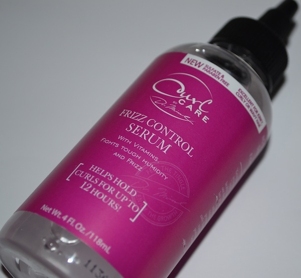 Curl care by Dr. Miracle's frizz control serum