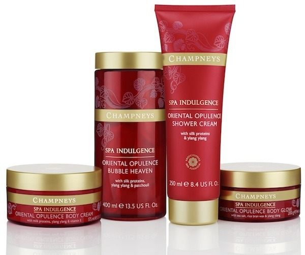 Champneys oriental opulence collection