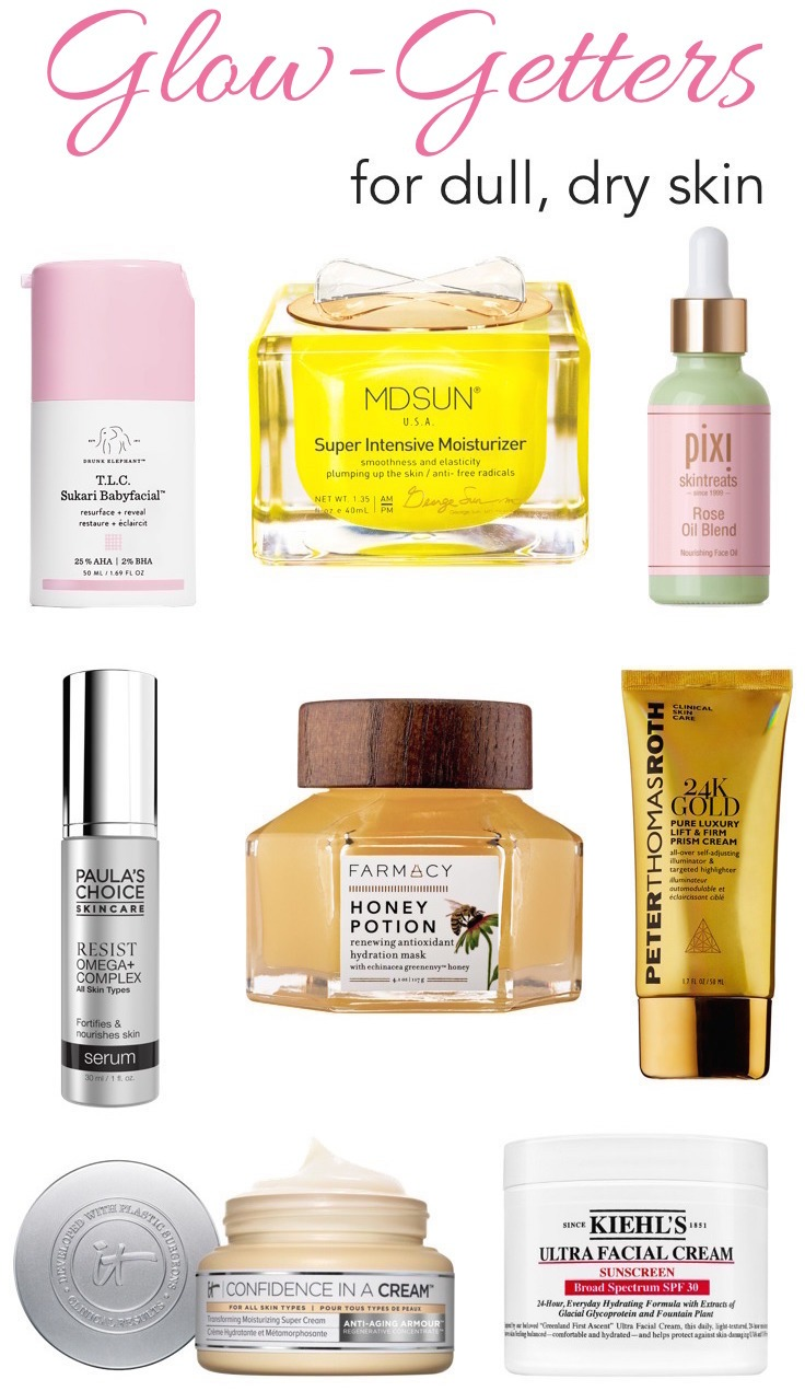 Best Skin Care Cream Dull Dry Skin Get Your Glow Back With These Skincare Saviors