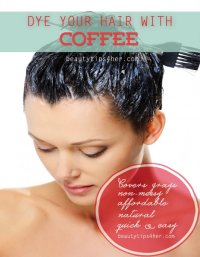 Dying Your Hair With Coffee Dark Brown Hairs Of Color Your ...