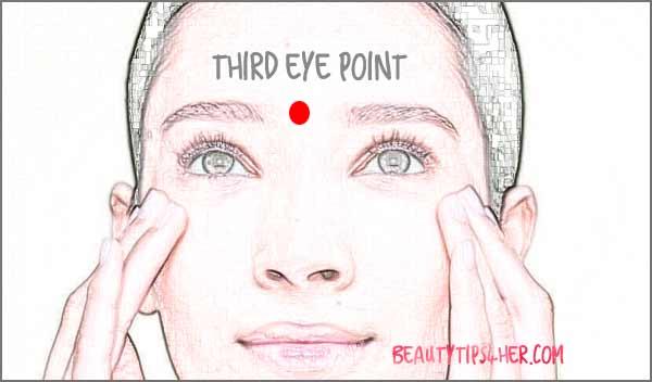 headache pressure points