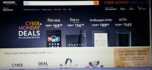 Amazon Cyber Monday Kindle