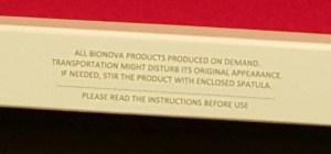 bionova produced to order sm