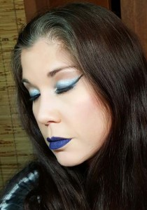 blue lips and eyes 3