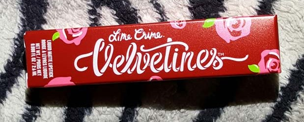 Lime Crime Metallic Velvetines