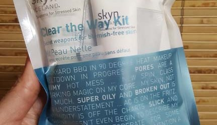 Skyn Iceland Clear the Way Kit 1