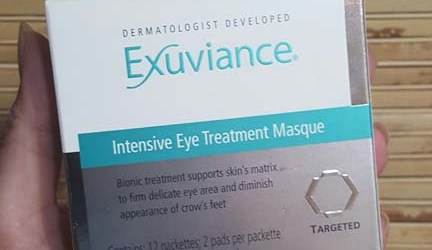 Exuviance eye masque 1