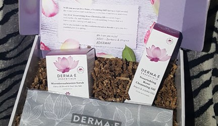 Derma E Microdermabrasion Scrub Rose Cleansing Oil