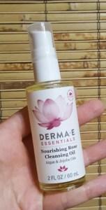 Derma E Nourishing Rose Cleansing Oil 1