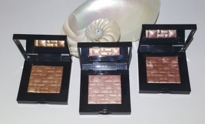 Bobbi Brown Highlighting Powders in Sunkissed Glow, Sunrise Glow, and Tawny Glow