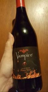 Vampire wine Pinot Noir