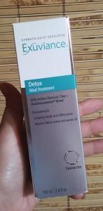 Exuviance Detox Mud Treatment 1