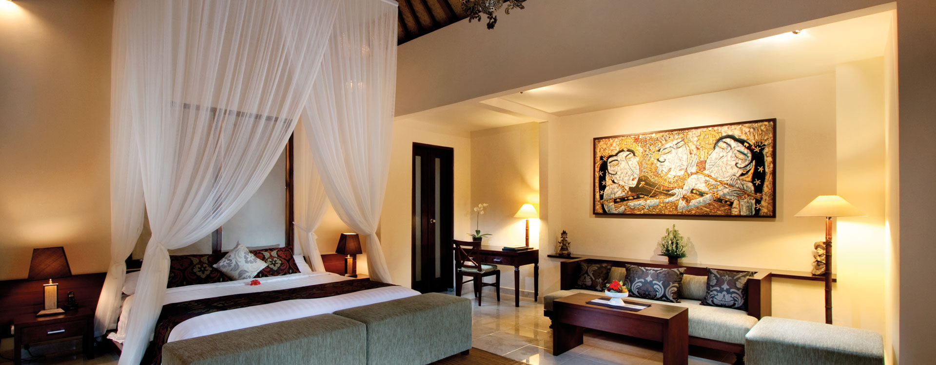 Cat Interior Terbaik Bebek Tepi Sawah Restaurant And Villas A Boutique Villas In Ubud