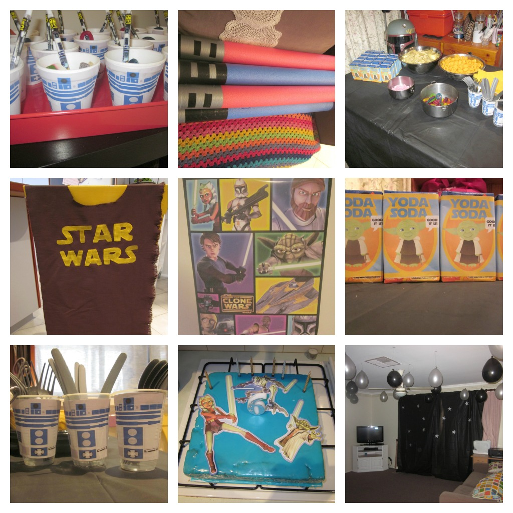 Star Wars Decorating Ideas Star Wars For The Boys And Cute Crochet For The Girls