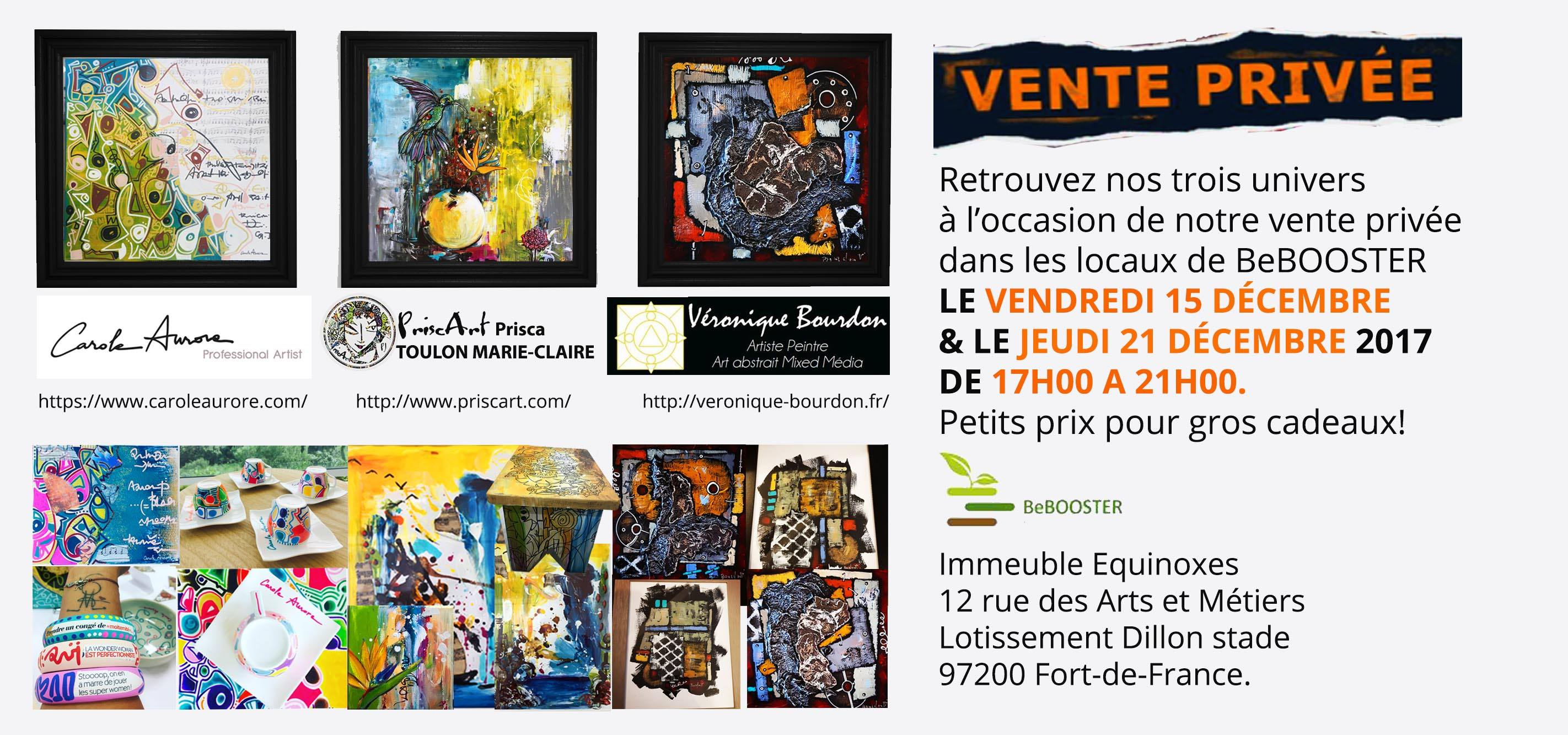 Vente Privee Art Vente Privée D Oeuvres D Art Carole Aurore Priscart Véronique