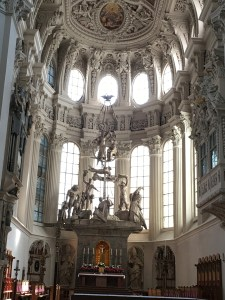 church in Passau Germany