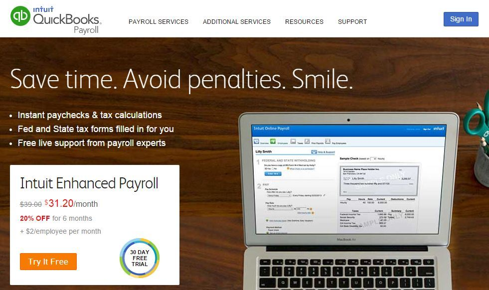 Buying Payroll Software Online for Small Business 2019
