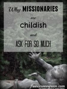 missionaries-are-childish