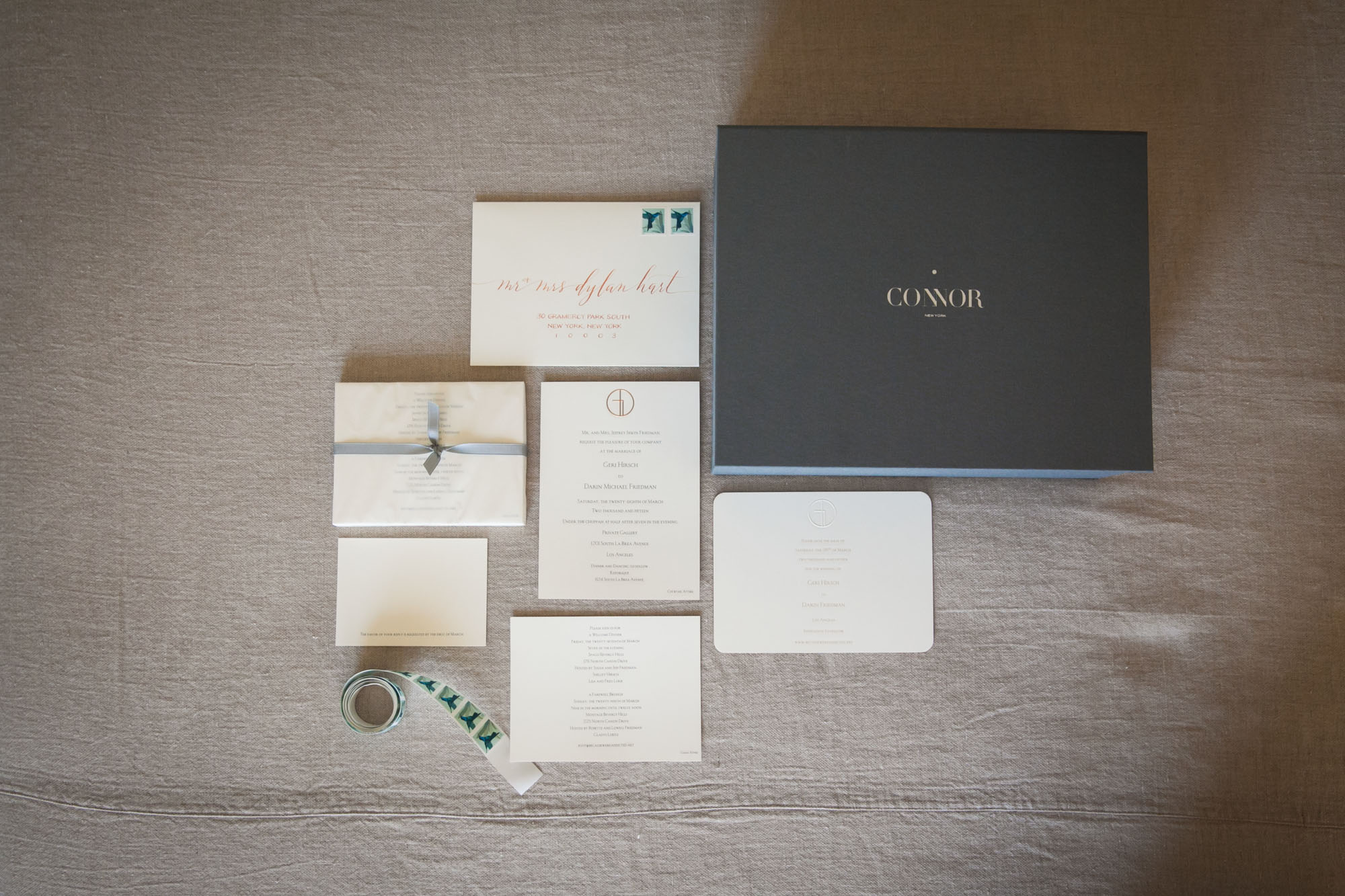 bespoke wedding invitations connor stationery wedding stationery Our Bespoke Wedding Invitations by Connor Stationery