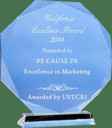 California Excellence Award