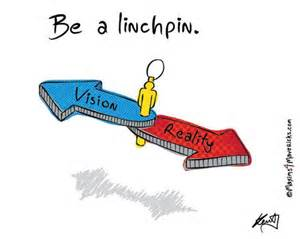 Be a linchpin