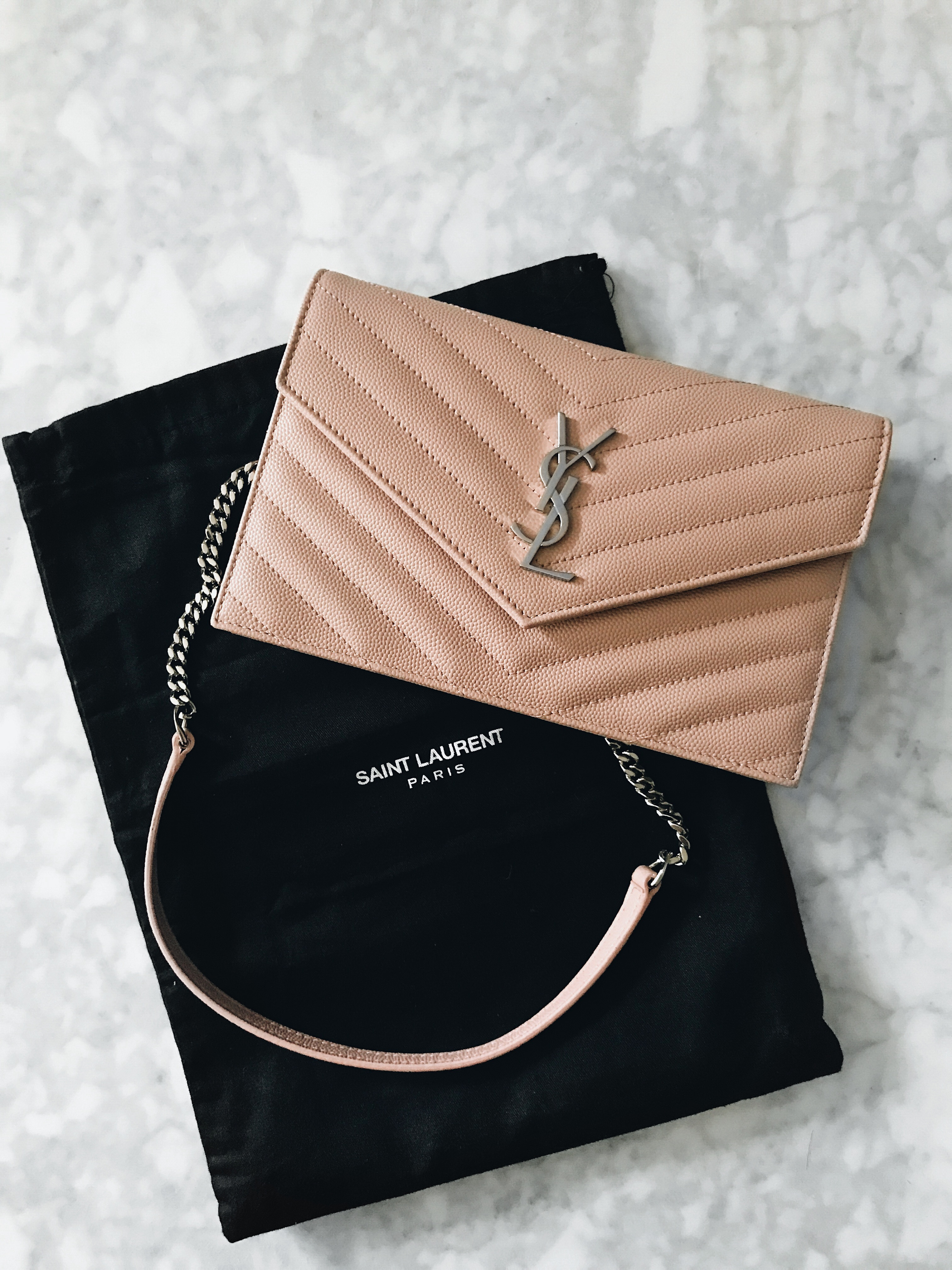 Mini Vs Woc Bag Review Yves Saint Laurent Monogram Wallet On Chain