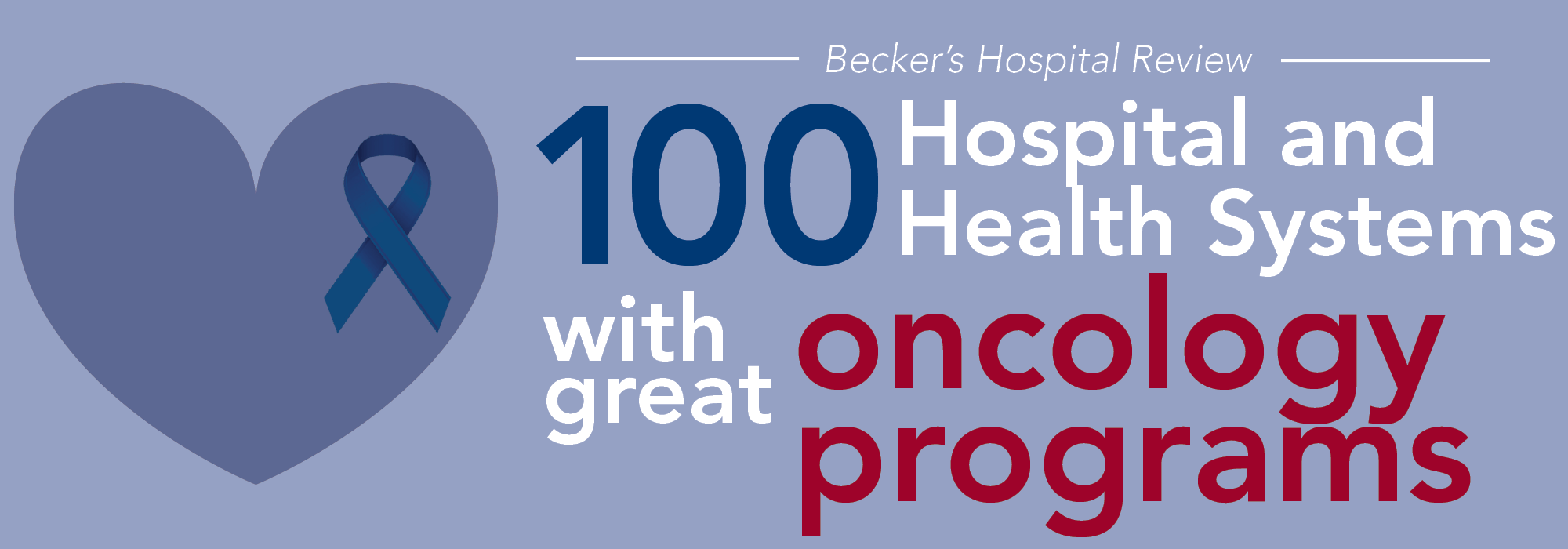 Tisch Hospital Ranking 101 Hospitals And Health Systems With Great Oncology Programs 2016