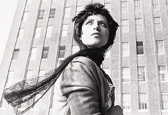 One of Cindy Sherman's untitled film stills - is it her? Who is it?