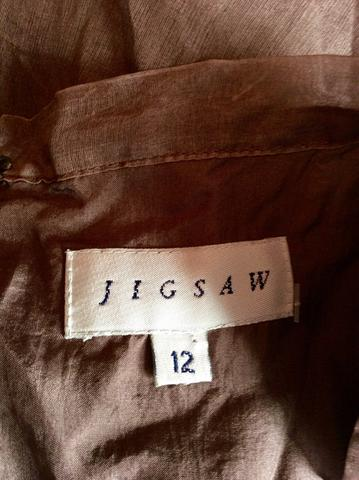 This isn't my skirt, but it is brown and it is from JIgsaw