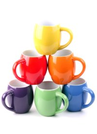 6 Colorful Ceramic Coffee Mugs Just $14.99! (reg. $79.99)