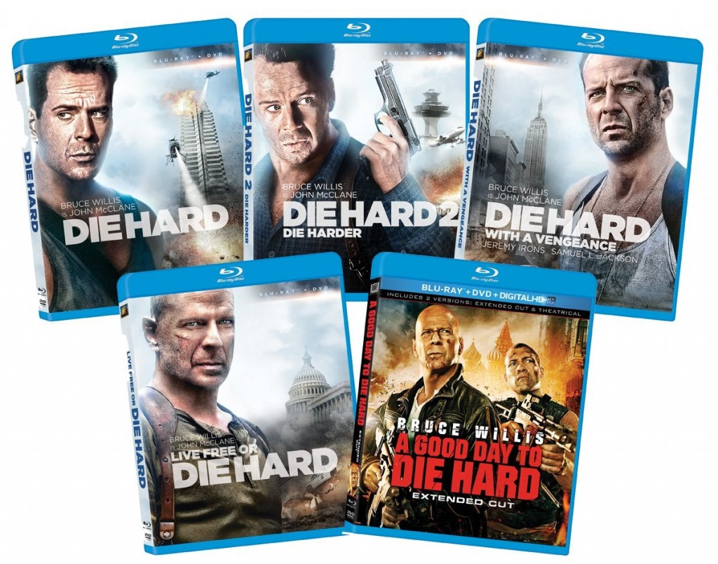 Die Collection Die Hard Collection On Dvd & Blu-ray Only $31.49!