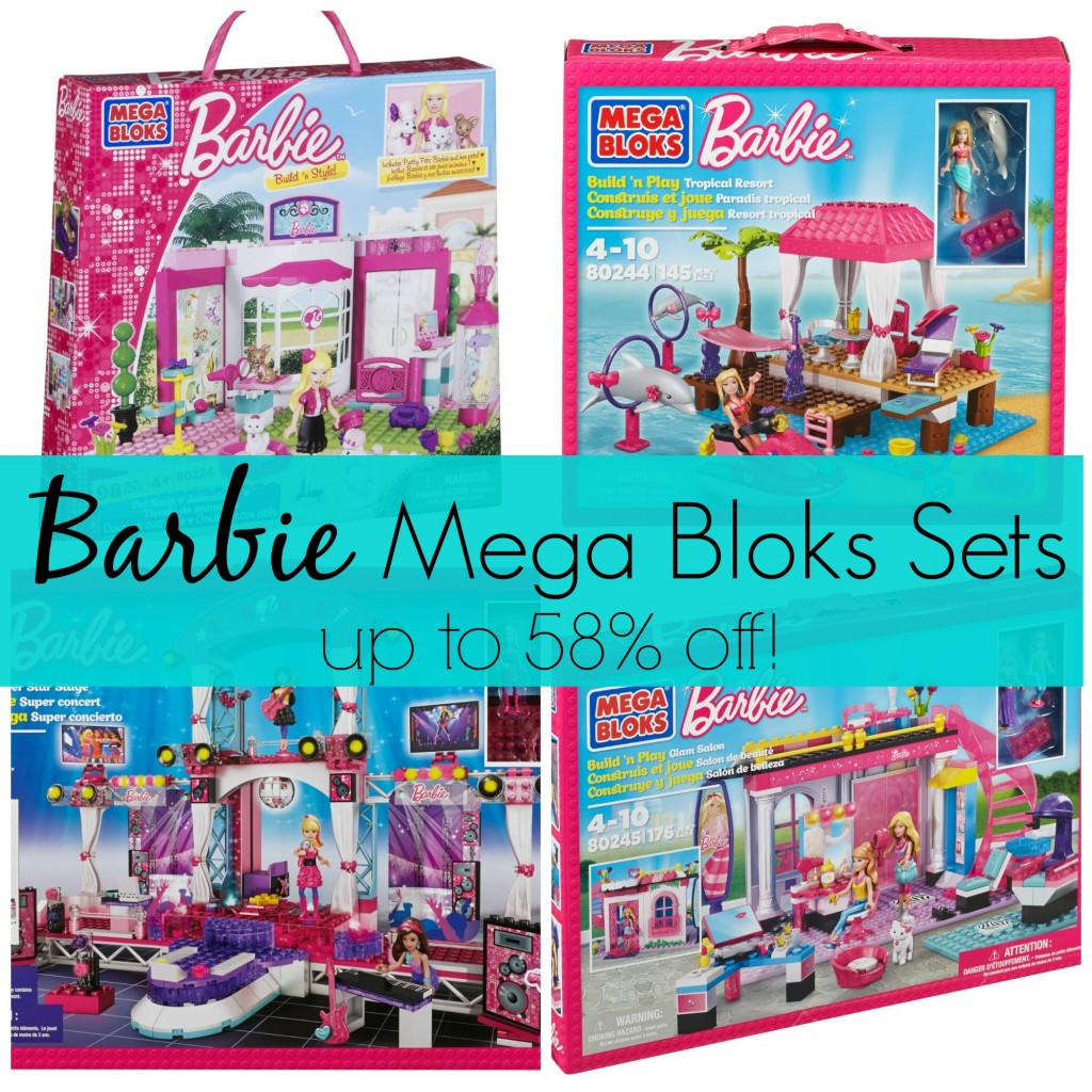 Juegos De Salon De Belleza Barbie Mega Bloks Sets Up To 58 Off