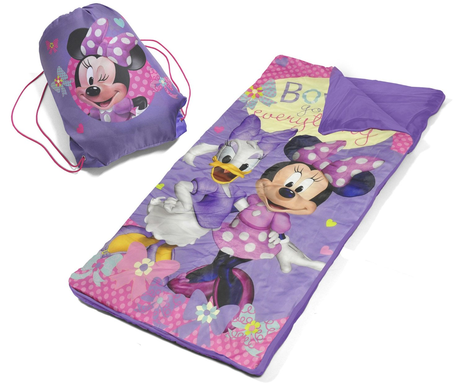 Target Sleeping Bags Disney Minnie Mouse Slumber Bag Set Only 9 98 Lowest Price