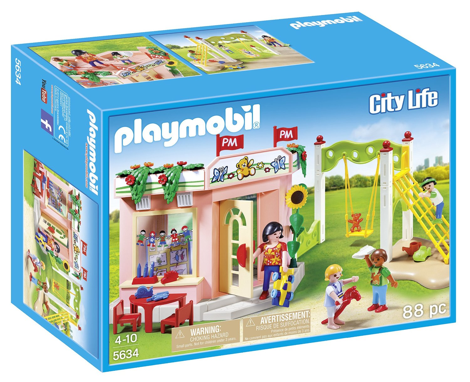 Playmobil City Life Küche 9269 Playmobil Preschool With Playground Playset Building Kit